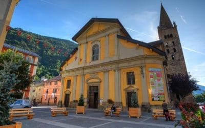 l'Eglise paroissiale du village de St Etienne de Tinée